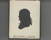 view MS 7129 Silhouettes of members of a 1805-06 delegation to Washington, and others digital asset: Paul Choteau, Interpreter