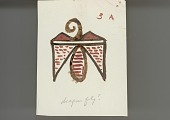 view MS 2038 Notes and sketches related to Zuni pottery digital asset: Notes and sketches
