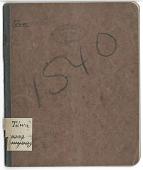 view MS 1540 Tewa-English vocabulary digital asset: Tewa-English vocabulary