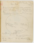 view MS 1900 Cheyenne notebook, diagrams, and notes digital asset: James Mooney Notebook