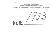"""view MS 1953 Notebook, marked, """"Trip, 1894-5 (Sinecu &c) digital asset: Notebook, marked, """"Trip, 1894-5 (Sinecu &c)"""