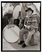 view Paul Ortega (Mescalero Apache) with guitar digital asset: Paul Ortega (Mescalero Apache) with guitar