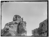 view Crow man standing up on rocky outcrop. Logbook title After the Last Raid digital asset: Crow man standing up on rocky outcrop. Logbook title After the Last Raid