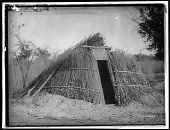 view Chemehuevi winter shelter. Published as Chemehuevi House on the Colorado River digital asset: Chemehuevi winter shelter. Published as Chemehuevi House on the Colorado River