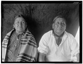 view Portrait of Oto man Wakonda and his wife digital asset: Portrait of Oto man Wakonda and his wife