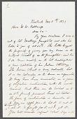 view Letter [concerning Dakota calendars], J. K. Homish [Honish?] digital asset: Letter [concerning Dakota calendars], J. K. Homish [Honish?]