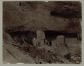 """view MS 2420 Photographs by unidentified photographer of cliff ruins, Rio Mancos, Colorado, and other Mesa Verde ruins, collected by H. Jay Smith when preparing the """"Cliff Dwellers"""" exhibit at the Worldʹs Columbian Exposition, 1894 digital asset: Photographs by unidentified photographer of cliff ruins, Rio Mancos, Colorado, and other Mesa Verde ruins, collected by H. Jay Smith when preparing the """"Cliff Dwellers"""" exhibit at the Worldʹs Columbian Exposition, 1894"""