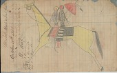 view MS 39-d-1 Book of drawings by anonymous Lakota artists digital asset: Book of drawings by anonymous Lakota artists