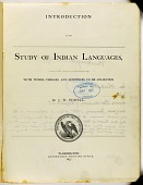 view MS 584 Choctaw vocabulary in Powell's Introduction to the Study of Indian Languages digital asset: Choctaw vocabulary