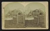 view [Horticultural Hall from Grounds?] digital asset: [Horticultural Hall from Grounds?]