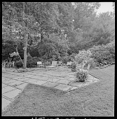 view Unidentified Location -- Unidentified Garden in New Jersey, No. 3 digital asset: Unidentified Garden in New Jersey, No. 3