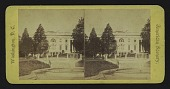 view East Front of White House digital asset: East Front of White House