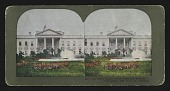 view The White House, North Front and Grounds digital asset: The White House, North Front and Grounds