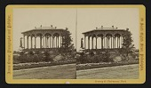 view Scenery in Fairmount Park, Philadelphia [Bandstand on George's Hill] digital asset: Scenery in Fairmount Park, Philadelphia