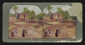 view Glimpse of a Typical Egyptian Village. Upper Nile digital asset: Glimpse of a Typical Egyptian Village. Upper Nile