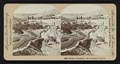view Valley of Jehosaphat, near Jerusalem, Palestine digital asset: Valley of Jehosaphat, near Jerusalem, Palestine