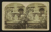 view Miss Foley's Marble Fountain, Horticultural Hall digital asset: Miss Foley's Marble Fountain, Horticultural Hall
