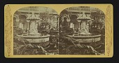 view [Marble Fountain, Horticultural Hall] digital asset: Marble Fountain, Horticultural Hall