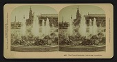 view The Three Fountains, Columbian Exposition digital asset: The Three Fountains, Columbian Exposition