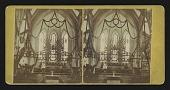 view Interior Episcopal Church, Fitchburg, Mass. digital asset: Interior Episcopal Church, Fitchburg, Mass.
