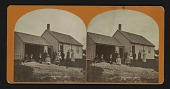 view [Cape Cod (?) house with family of 11] digital asset: [Cape Cod (?) house with family of 11]