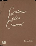 view Costume Color Council presents costume color families for fall, 1950 digital asset number 1