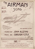 view The airman : song : for baritone or bass / words by John Alleyne ; music by Carlyon de Lyle digital asset number 1