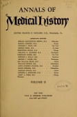 view Annals of medical history digital asset number 1