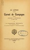 view Au Congo : carnet de campagne ; episodes & impressions de 1889 à 1897 digital asset number 1