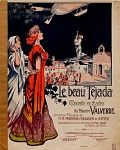 view Le beau tejada. No. 1 bis, Tango dansa / musique du Maestro Valverde digital asset number 1