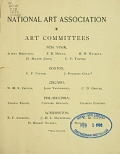 view Catalogue of the first national loan exhibition of the National Art Association : open from Wednesday, the eighteenth of May, to Friday, the twenty-seventh of May, inclusive : hours of exhibition from from nine-thirty a.m. to four thirty p.m. : in the chapel of the Smithsonian Institution, Washington, D.C., 1892 digital asset number 1