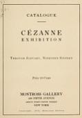 view Cézanne exhibition : through January, nineteen sixteen digital asset number 1