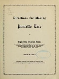 view Directions for making Poncetto lace / by Theresa Rizzi digital asset number 1