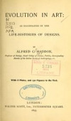 view Evolution in art: as illustrated by the life-histories of designs. By Alfred C. Haddon ... With 8 plates, and 130 figures in the text digital asset number 1