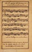 view La frayeur de Gonnesse : contre-danse franc̜oise / mis au jour et gravé par Landrin, m[ai]tre et compositeur des Traits des contre-danses digital asset number 1