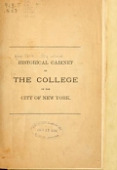 view Historical cabinet of the College of the City of New York. [Catalogue] digital asset number 1