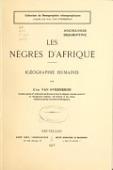 view Les nègres d'Afrique, (géographie humaine) digital asset number 1