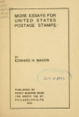view More essays for United States postage stamps / by Edward H. Mason digital asset number 1