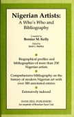 view Nigerian artists : a who's who and bibliography / compiled by Bernice M. Kelly ; edited by Janet L. Stanley digital asset number 1