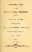 view Professional papers of the Corps of Royal Engineers : Royal Engineer Institute, occasional papers digital asset number 1