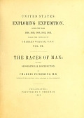 view The races of man and their geographical distribution / by Charles Pickering .. digital asset number 1