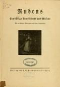 view Rubens; Eine Skizze seines Lebens und Wirkens digital asset number 1