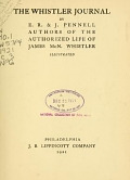 view The Whistler journal / by E.R. & J. Pennell digital asset number 1
