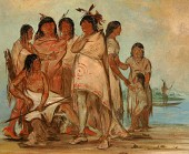 view Du-cór-re-a, Chief of the Tribe, and His Family digital asset number 1