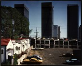 view Downtown L. A. from 600B1 Bixel St., from the Los Angeles Documentary Project digital asset number 1