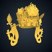 view Bodhisattva Avalokiteshvara (Gwaneum) - Crown digital asset number 1