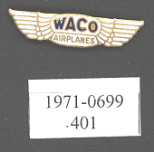 view Pin, Lapel, Waco Airplanes digital asset number 1