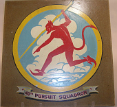 view Insignia, 40 Pursuit Squadron, United States Army Air Corps digital asset number 1