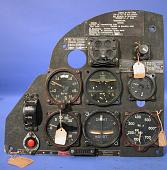 view Instrument Panel, Arado Ar 96, Left Side digital asset number 1