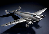 view Model, Static, Lockheed Electra, Amelia Earhart digital asset number 1